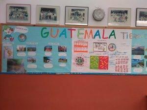 Treball sobre Guatemala a l'aula