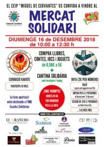 Fira Solidària al Miguel de Cervantes d'Elx