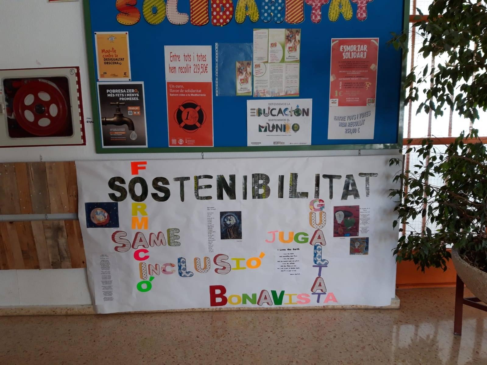 El CEIP Bonavista d'Ontinyent participa en la Setmana d'Acció Mundial per l'Educació