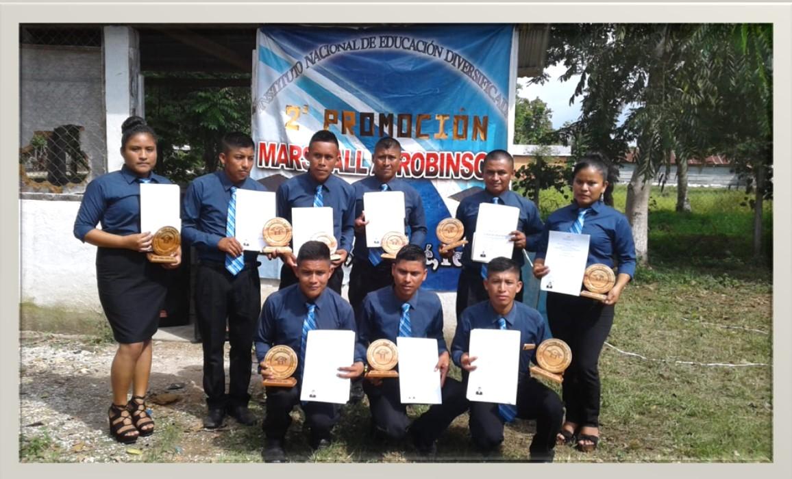 Estudiar secundària a Sayaxché(Guatemala) ha estat possible, en 2019, gràcies a la cooperació de l'Ajuntament d'Ontinyent
