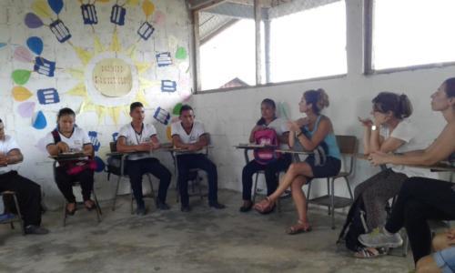 Reunió amb professorat de La Democracia